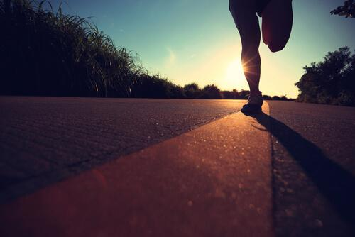 A marathon is similar to your professional career.