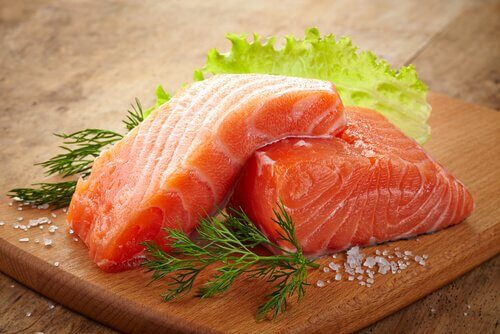 You can eat salmon under the paleolithic diet.