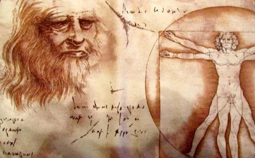 A Leonardi da Vinci drawing.