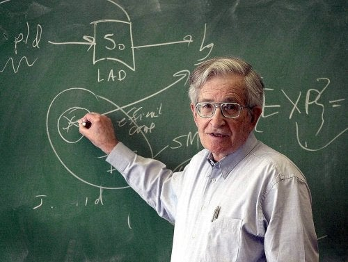 Noam Chomsky is a renowned theorist on educational psychology.