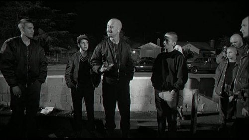 A group of young white men from American History X.