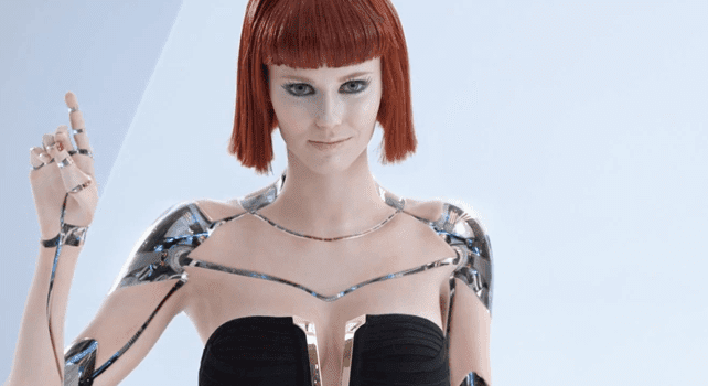 A sex robot of the future.