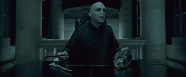 Voldemort in Harry Potter.