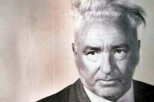 Portrait of Wilhelm Reich.