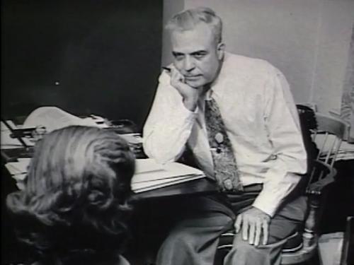 Milton Erickson during analysis.