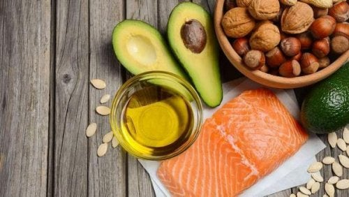 Foods rich in omega-3.