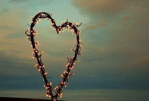 Heart of lights.