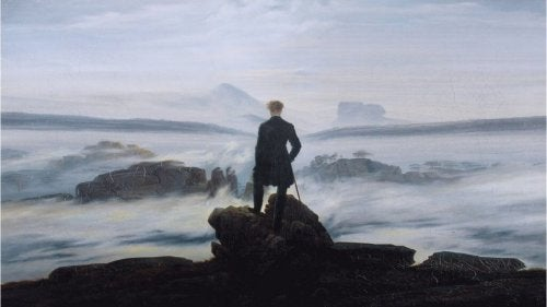 The cover of the book Caspar David Friedrich by Johanna Grave.