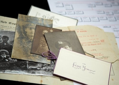 Old letters and photos bring back memories.