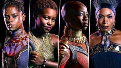 The women of Black Panther.