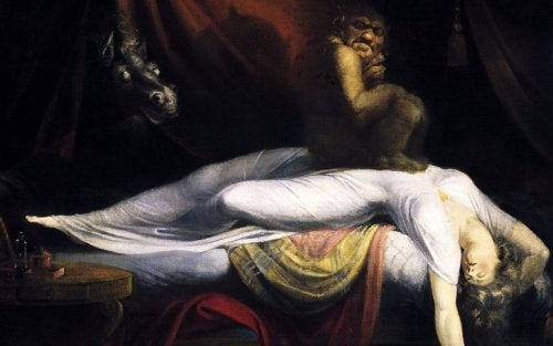 The Nightmare by Henry Fuseli.