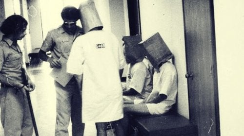 Participants of the Stanford Prison Experiment.