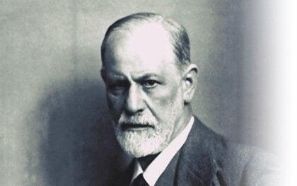 A photo of Sigmund Freud.