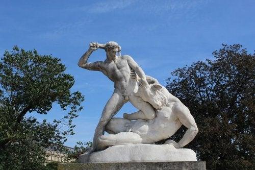 A Theseus monument.