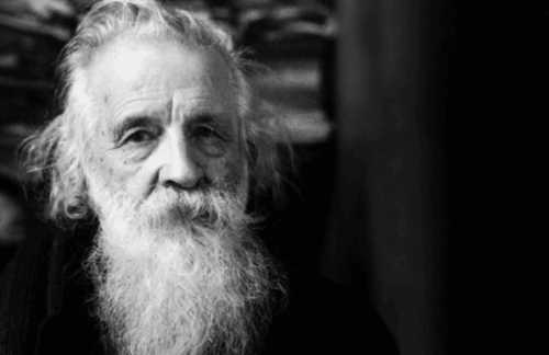 A photograph of Gaston Bachelard.
