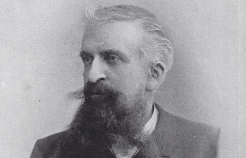 A photograph of Gustave Le Bon.