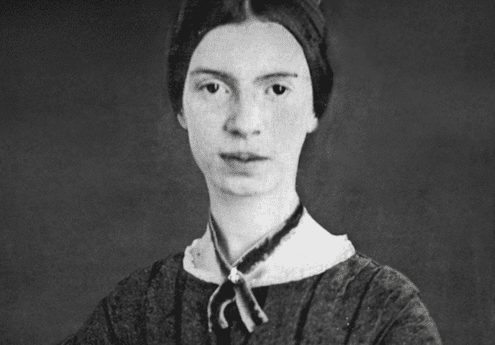A photo of Emily Dickinson.