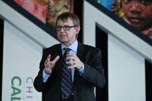 Hans Rosling and his predictions.
