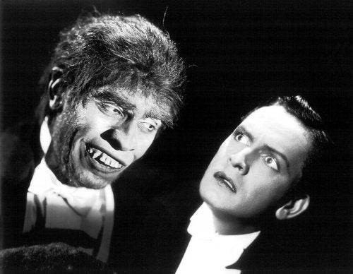 Dr. Jekyll and Mr. Hyde.