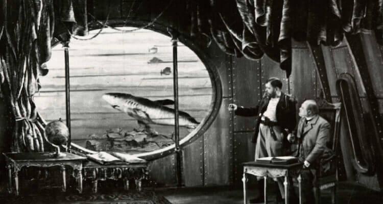 Jules Verne's submarine.