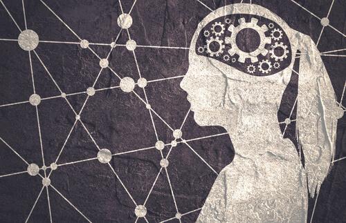 A person with a machine inside their brain.
