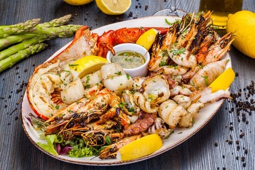 Eating seafood is good for your brain