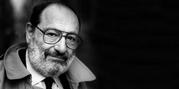 Umberto Eco: Novelist and Philosopher