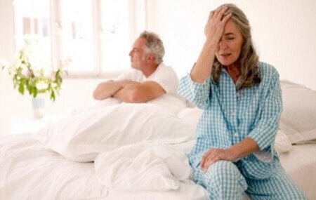 How menopause affects sexual desire.