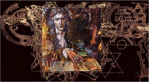 Newton and the psychology of Jung's alchemy.