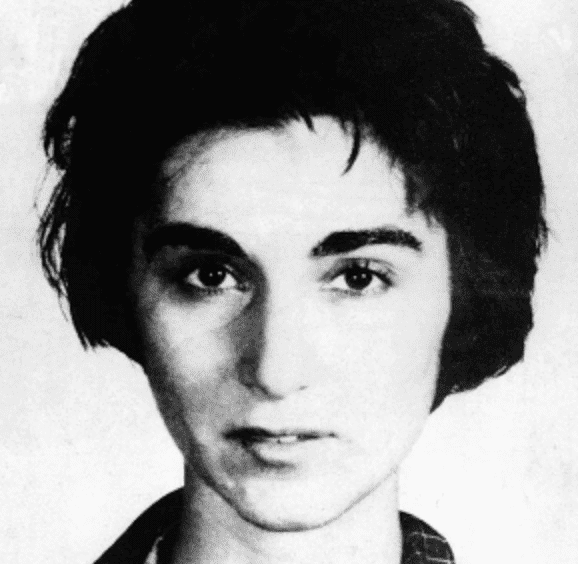 "A picture showing Kitty Genovese, the woman whose murder inspired the term ""bystander effect,"" from the neck up."