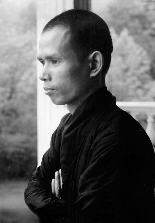 A young Thich Nhat Hanh.