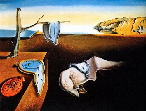 """The passage of time"" by Salvador Dalí"
