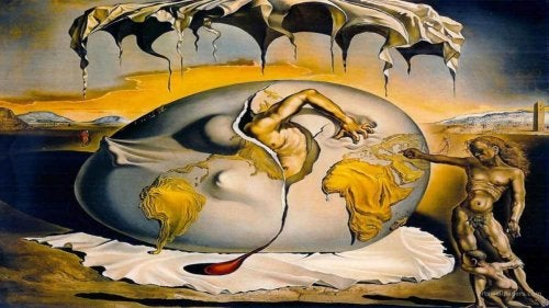 Another surrealist piece by Dalí.