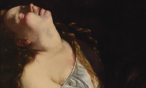 A painting by Artemisia Gentileschi.