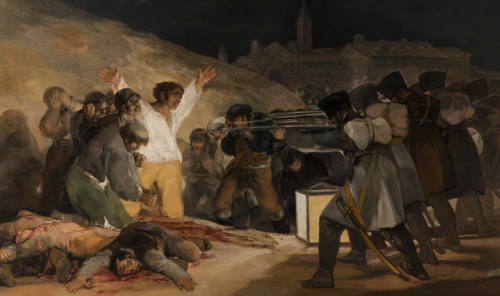 A painting by Francisco de Goya.