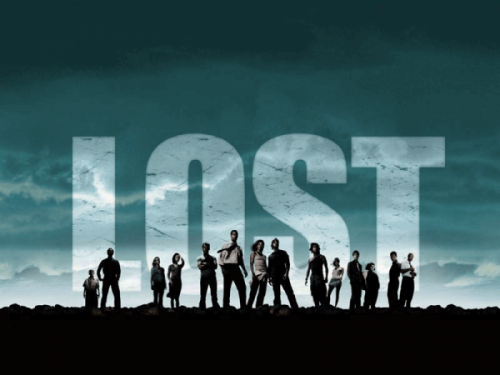 A poster for Lost, the TV series.