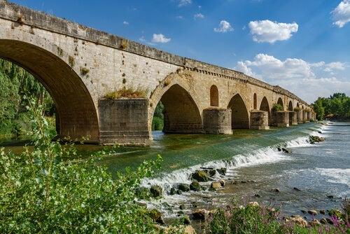 A bridge near Tordesillas.