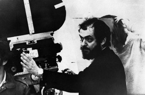 Stanley Kubrick directing a movie.