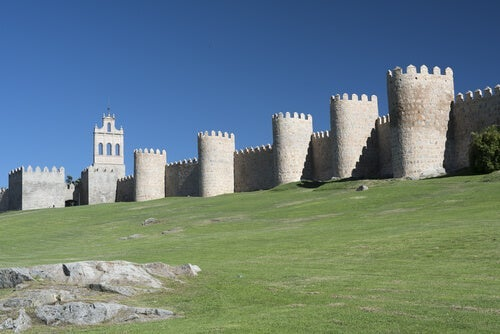 The Walls of Ávila, Central Spain.