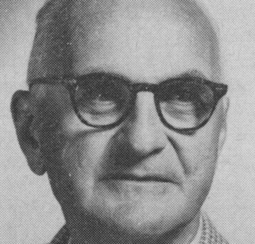 A close up of Donald Ewen Cameron.