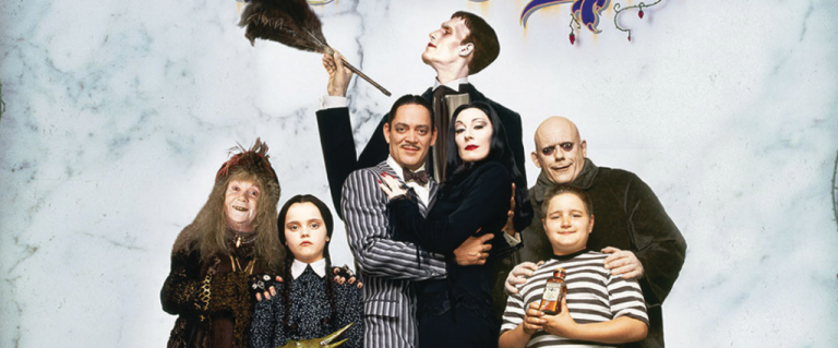 The Addams Family: Beauty in the Macabre