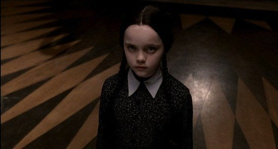 A member of the Addams family.