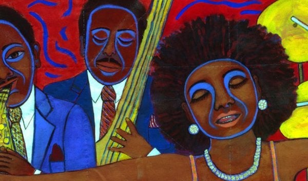 Some African American art.