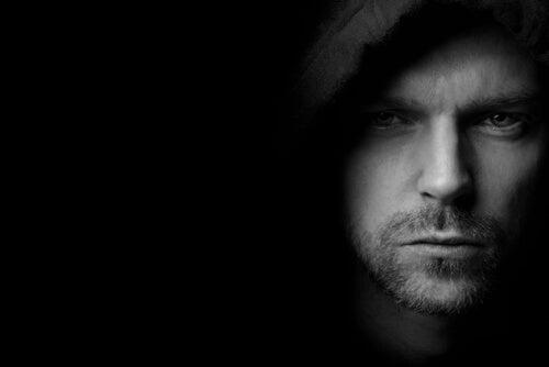 A man with a hood.