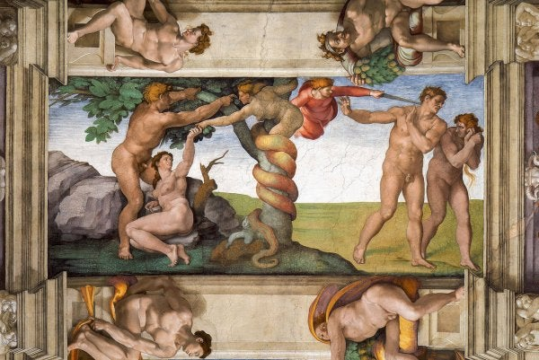 A Michelangelo painting.