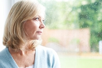An older woman hoping that despair dissipates with age.