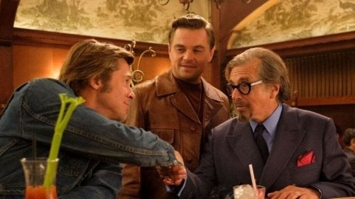 The three main characters in Once Upon a Time in Hollywood.