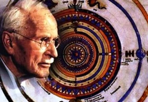 An illustration of Jung and his symbolism.