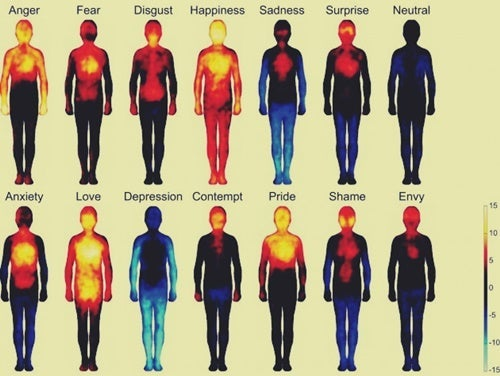 A human emotions map.