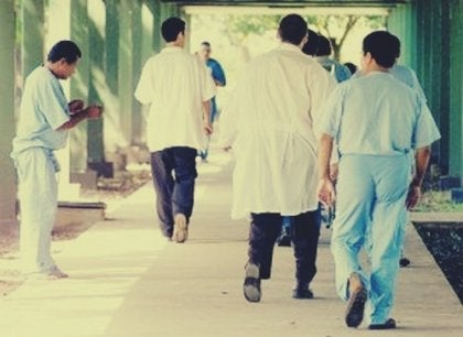 Patient's in a psychiatric hospital.